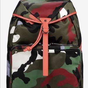 Valentino Military Backpack